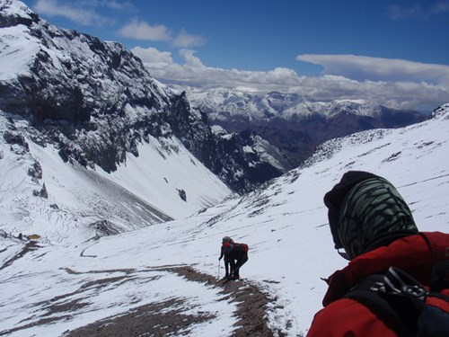 Aconcagua_Climbing up long slopes.JPG