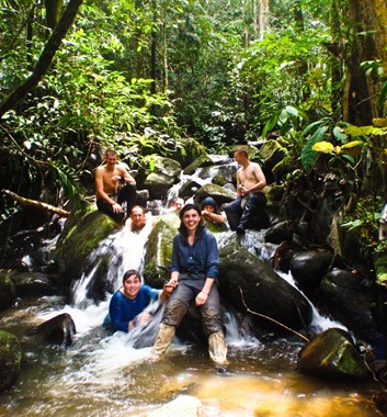 Borneo school adventure
