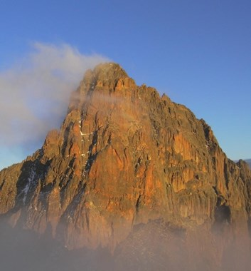Mt Kenya - Nelion Technical Peak