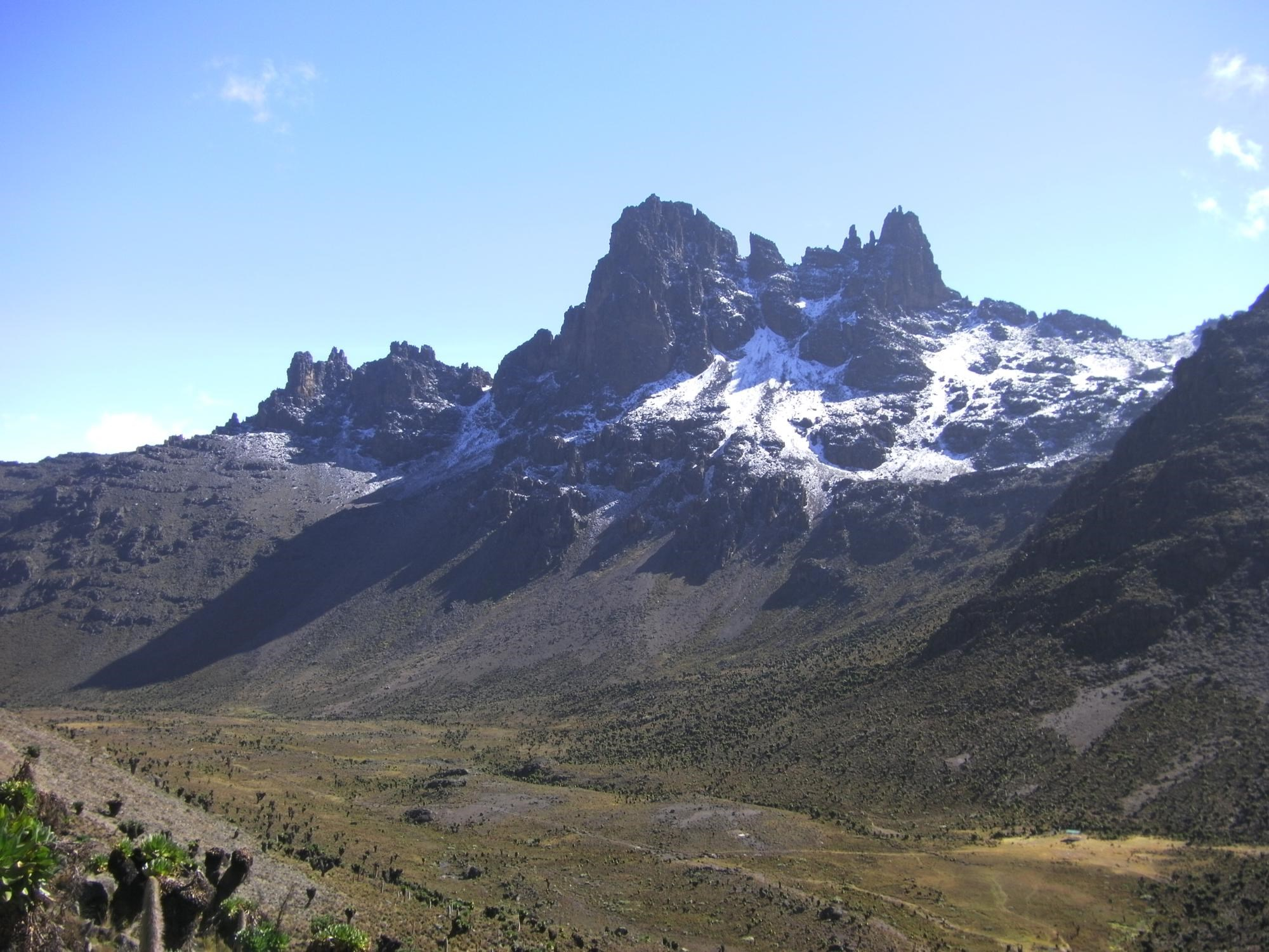 Mount Kenya - Sirimon Route (2)