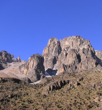Mount Kenya - Sirimon Route