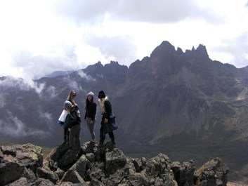 Mount Kenya - Sirimon Route (3)
