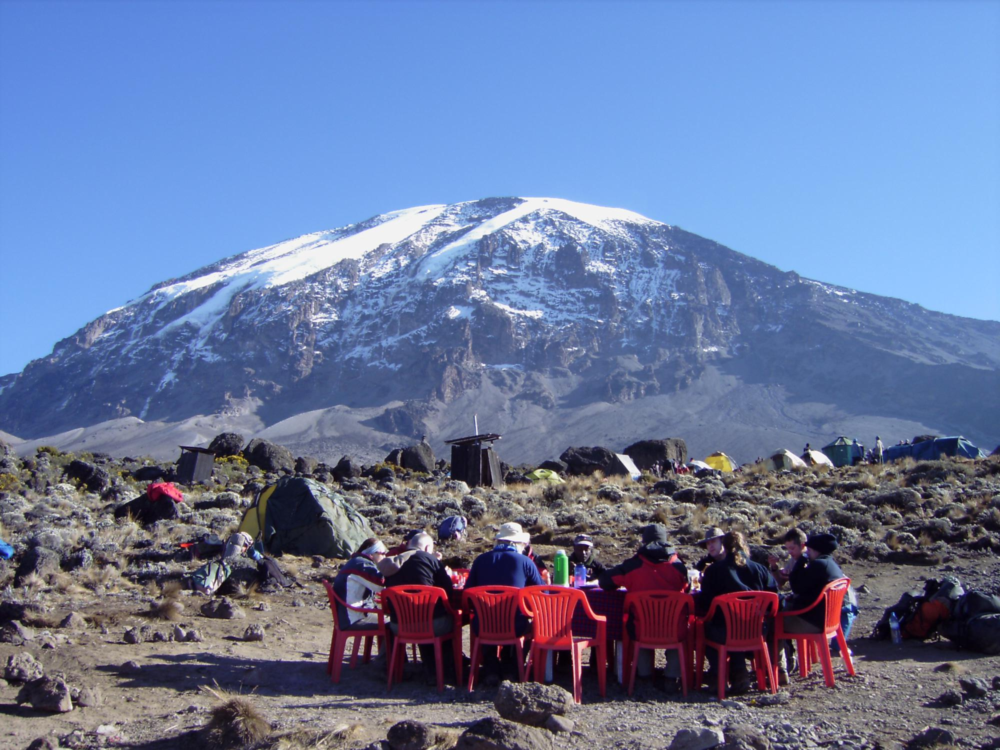 Charity Climb Of Mount Kilimanjaro For Moving Mountains