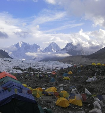 Everest Base Camp - Khumbu valley