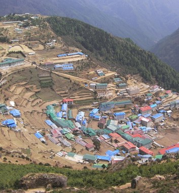 Everest Base Camp - Namche Bazaar