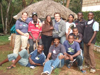 Adventure Alternative staff in Kenya