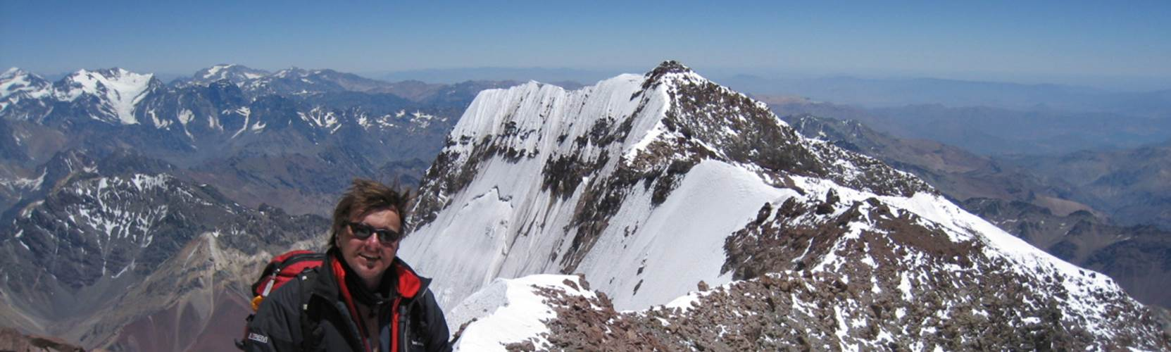 Climbs in the Andes - Mount Aconcagua