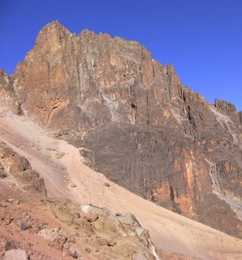 Mt Kenya - Batian Technical Peak