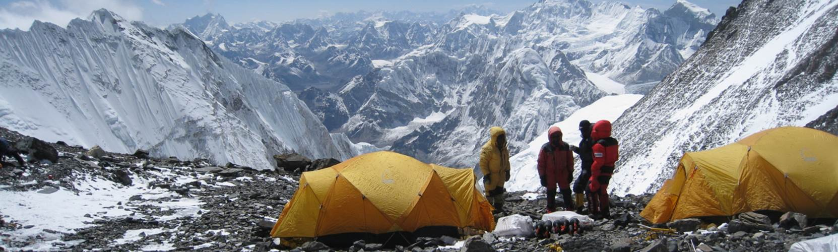Seven Summit - Mount Everest, south col