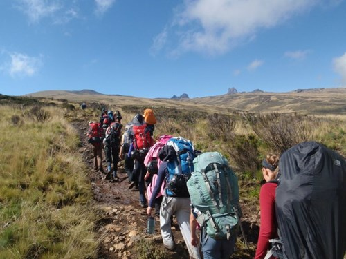 Trekking in East Africa