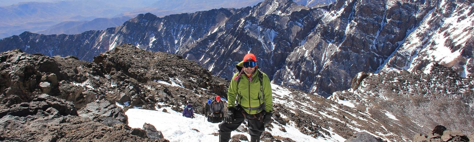 trekking and climbing in the atlas mountains adventure alternative