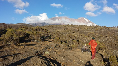 View of Kilimanjaro from Shira Camp (1)