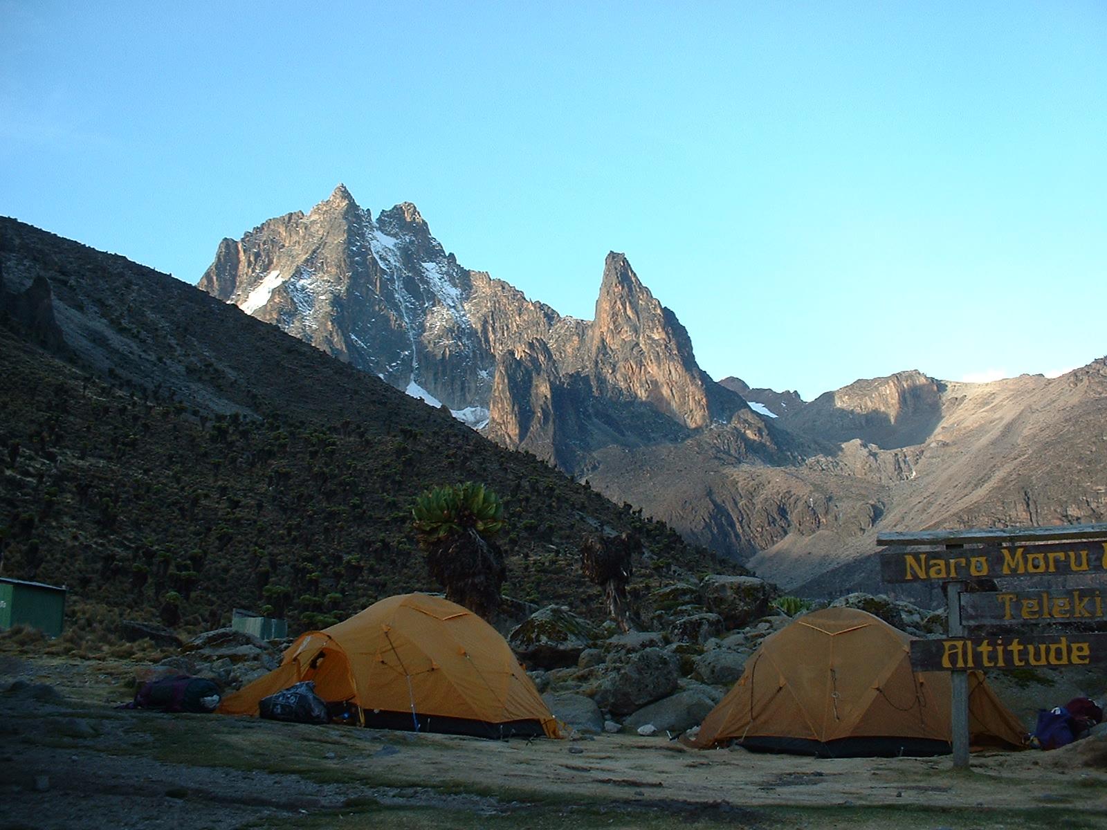 Mount Kenya Summit Circuit