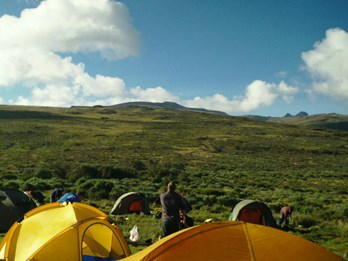 Mount Kenya - Sirimon Route (10)