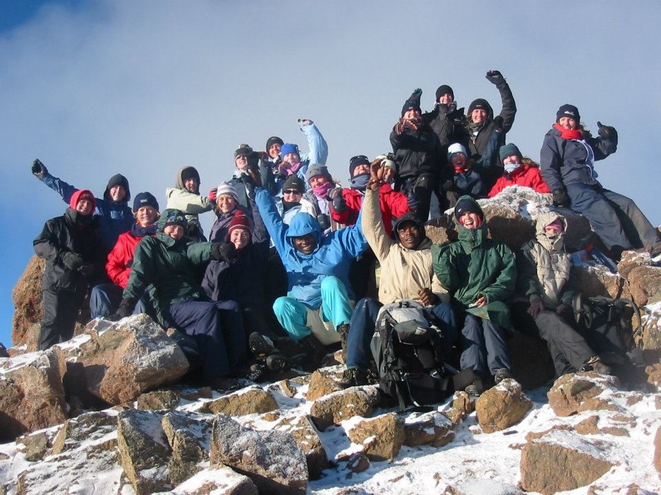 Mount Kenya mountain guide