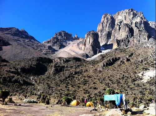 Mount Kenya - Sirimon Route (23)
