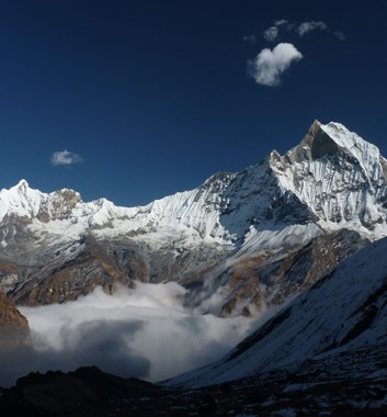 Annapurna and Machupuchare