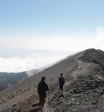 Mount Meru summit ridge walk
