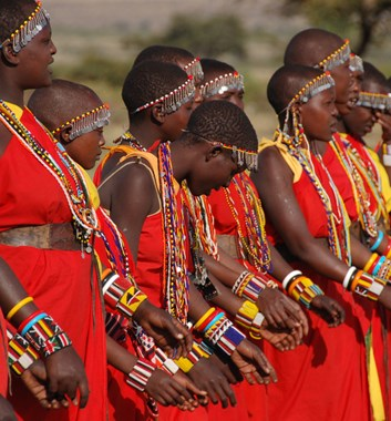 Kenya Safari - Masai women