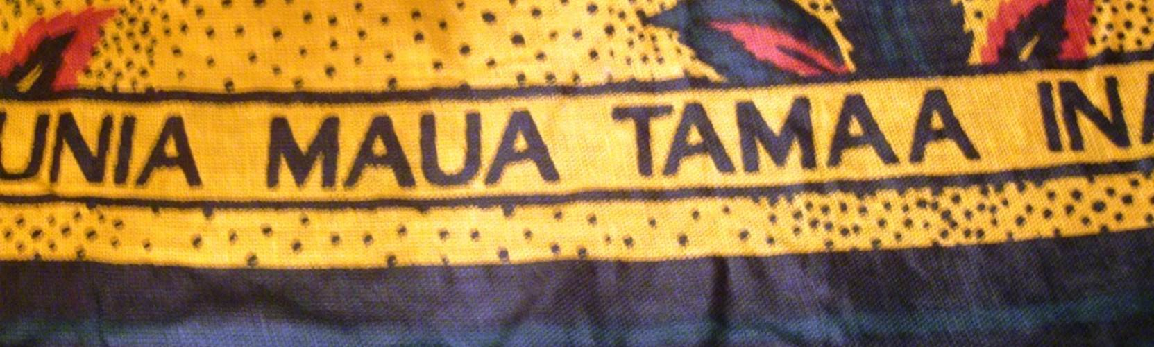 Swahili tanzania traditional fabric
