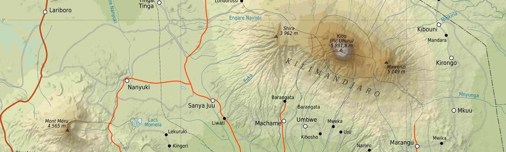 kilimanjarobooks and maps. further reading books and maps for mount kilimanjaro  adventure