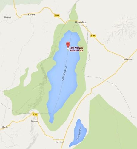 lake manyara national park map.JPG