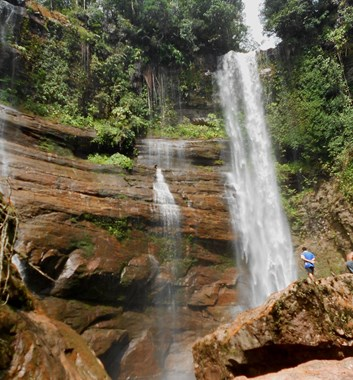 Wild Borneo Waterfall trek