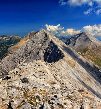 Summits and Ridges of Bugaria - Marble Ridge