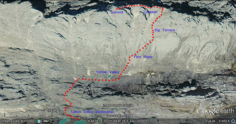 Puncak Jaya Carstensz Pyramid Expedition Adventure