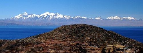 Cordillera Central Bolivia, Peaks in the Andes.jpg