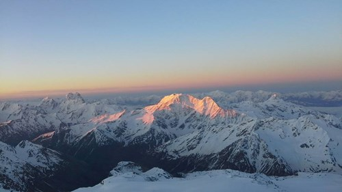 View from Mount Elbrus