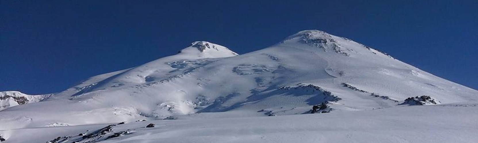 Mount Elbrus in Caucasus