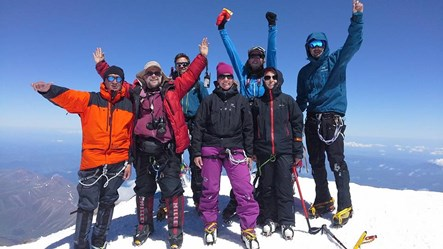 Sasha with another happy group on top of Elbrus.jpg