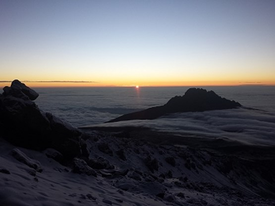 Surise on Kilimanjaro with Mawenzi in foreground.jpg