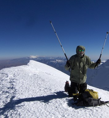 Illimani summit