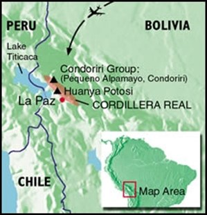 Bolivia Cordillera Real map.jpg
