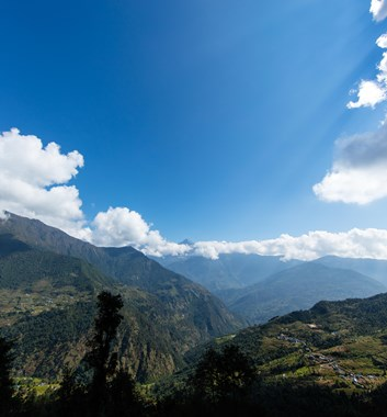 Nepal Tourism Workshop - mountain view